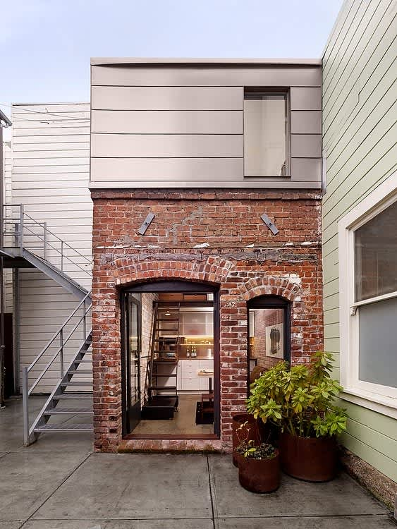 A Boiler Room Turned Perfect, Tiny House | Apartment Therapy