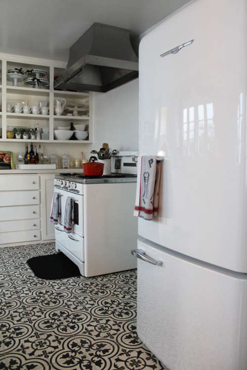 How to Get the Look of Patterned Cement and Encaustic Tile for Less ...