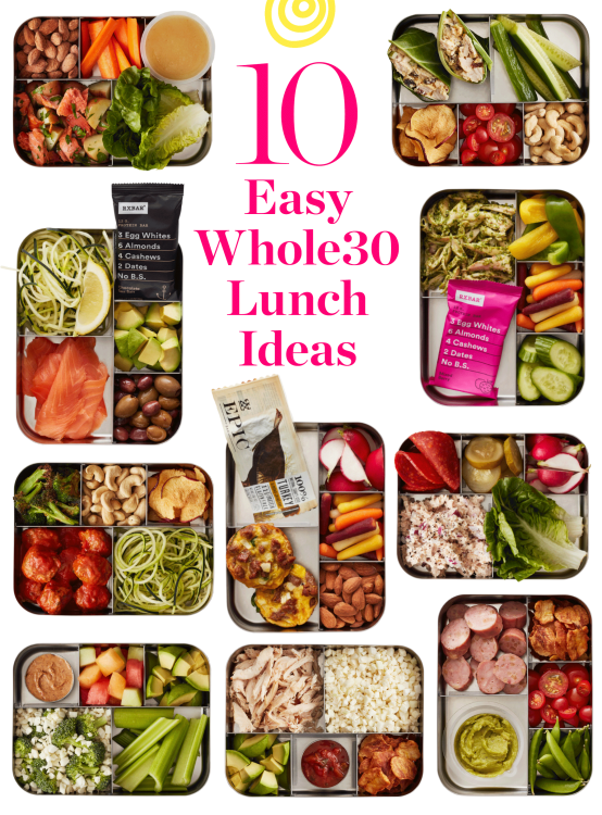 Whole30 Lunch Ideas To Pack For Work