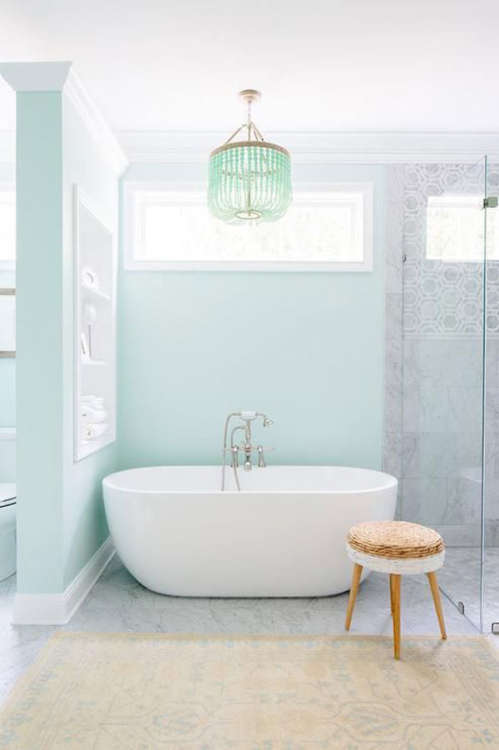 Hanging out in style 10 bathrooms with chandeliers that add a touch hanging out in style 10 bathrooms with chandeliers that add a touch of glam apartment therapy aloadofball Images