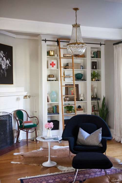 diy built in bookshelves on a budget apartment therapy - How To Make Custom Built In Bookshelves
