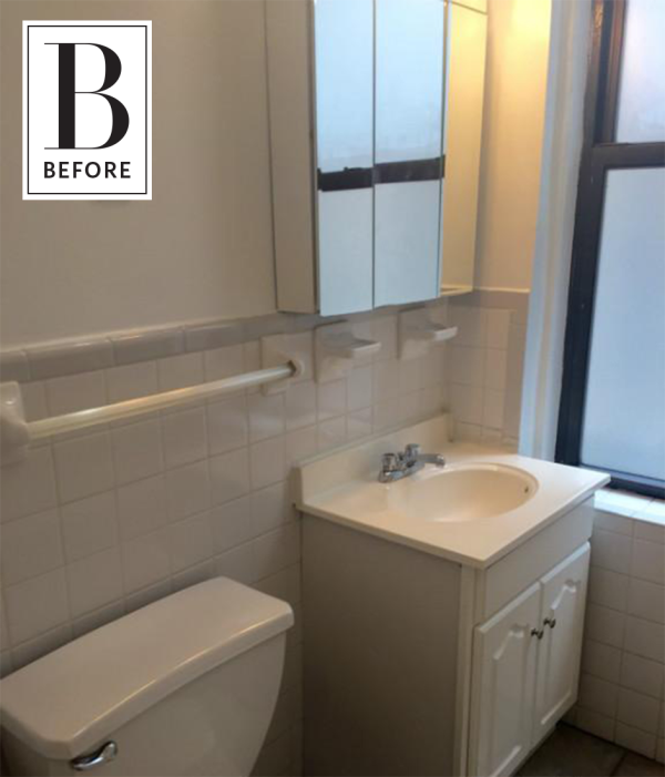 Keeping Colors Calm: A Beautifully Neutral Bathroom Makeover | Apartment  Therapy