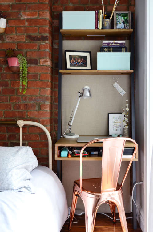 Smart U0026 Stylish Small Space Home Office Ideas