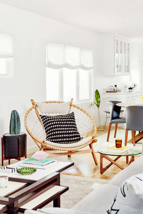 (Image Credit: Chris Patey For My Domaine). Oh Papasan Chair.