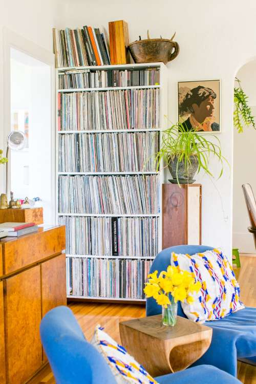 Vinyl Record Storage 25 Best Storage Solutions Apartment Therapy