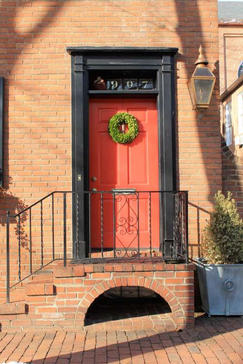 History Of Red Front Doors Apartment Therapy