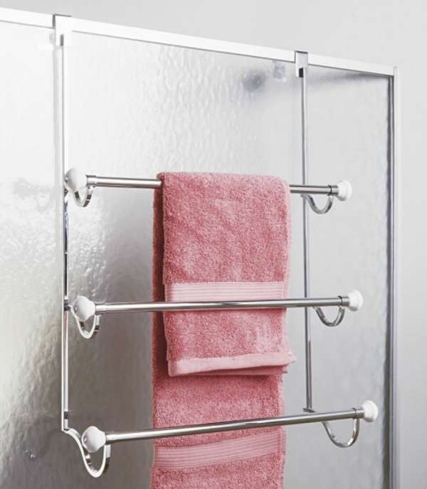 Ideas for Hanging & Storing Towels in a Small Bathroom | Apartment on small glass shelves for bathroom, small foyer entryway decorating ideas, small bathroom walls, small black bathroom cabinet, small bathroom with no storage, small bathroom linen storage, small bathroom storage shelves, small bathroom shelf, small bathroom floors, small bathroom sink storage, small bathroom looks, small powder room bathroom, wood bathroom cabinet over toilet storage, small bathroom tables, small bathroom storage cabinets for bathrooms, small bathroom linen closet, wall mounted bathroom storage, very small bathroom storage, teak shelf bathroom storage, vintage bathroom storage,