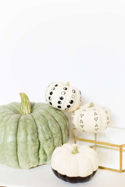 Pumpkin Decorating Ideas for People Who Are Lukewarm on Halloween