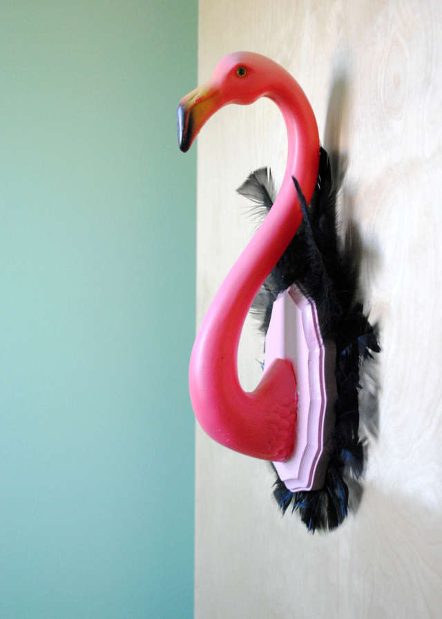 Fun Projects With Pink Plastic Flamingo Lawn Ornaments