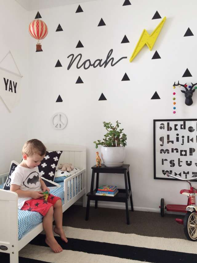 Noah S Graphic Modern Abode Apartment Therapy