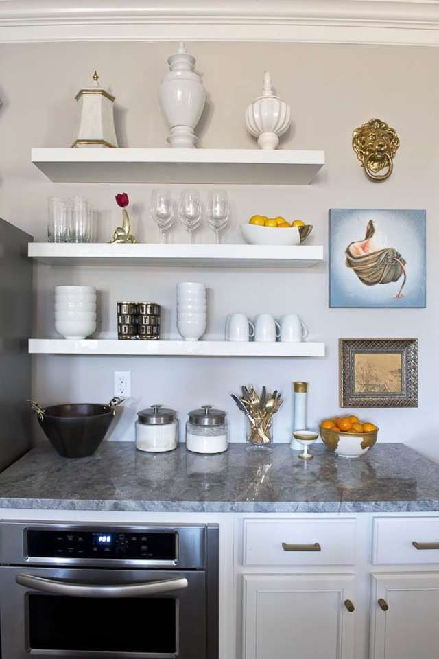 House Tour A Glamorous Tennessee House Apartment Therapy