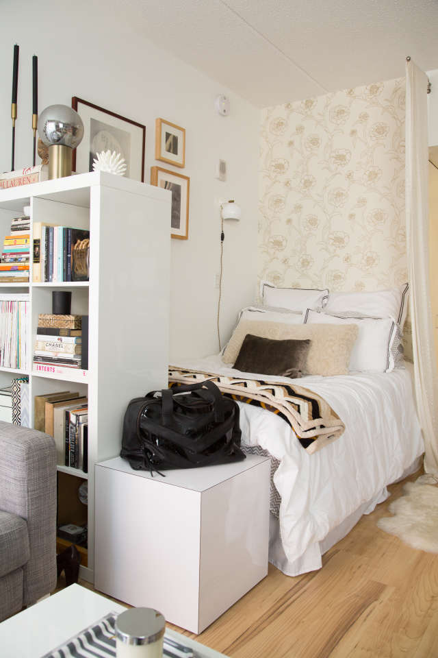 How To Make A Bedroom In A Studio Apartment Apartment Therapy