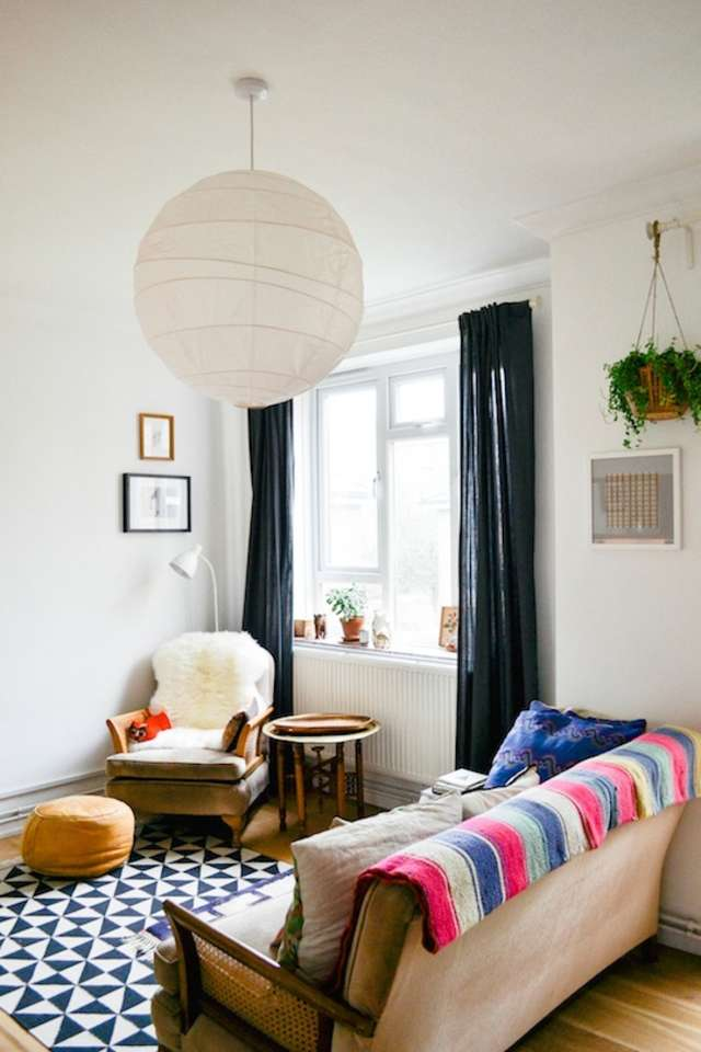 Small Living Room Apartment Therapy