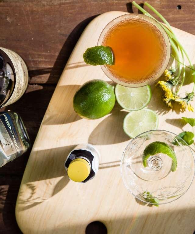 Fig Leaf Mixed Drink