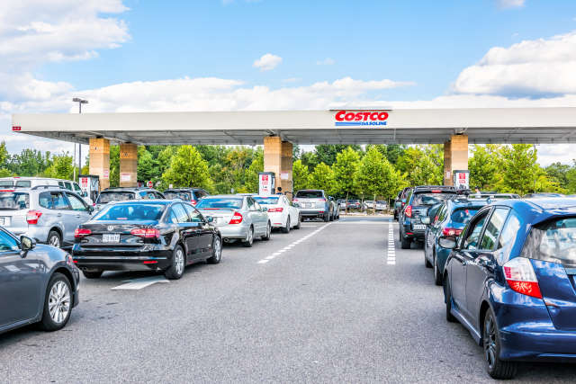 hopefully the lines at your costco pumps are much shorter