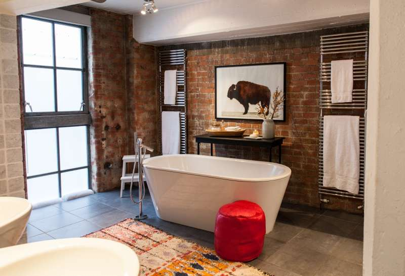 House Tour An Eclectic London Loft Apartment Therapy
