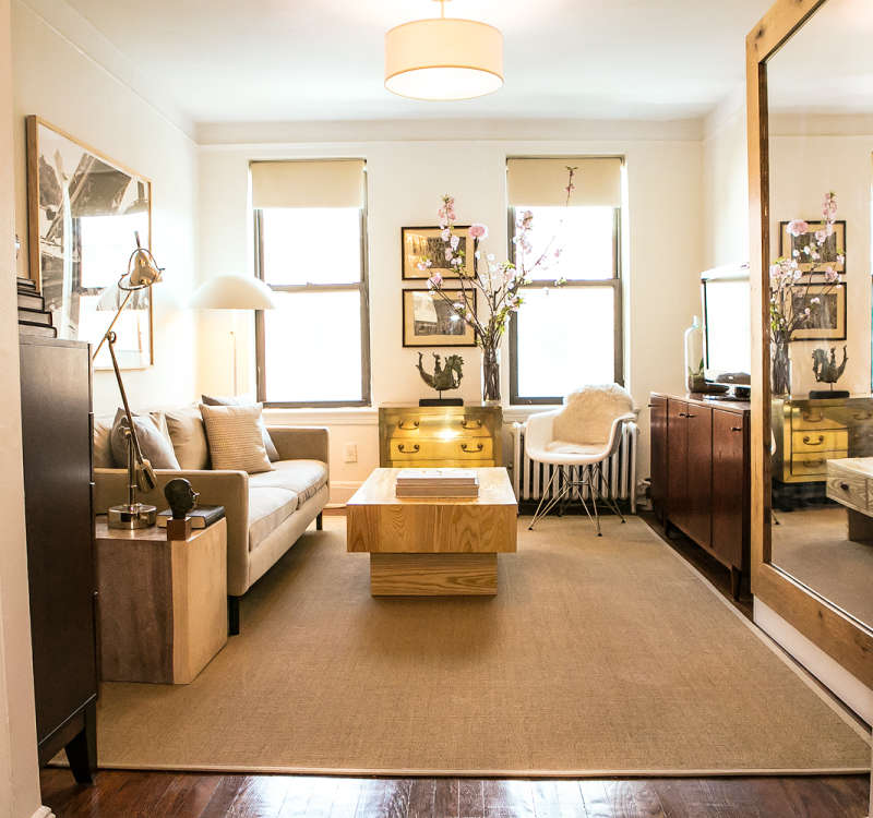 Looking For An Apartment: The Look For Less: Garrett's Living Room On A Budget