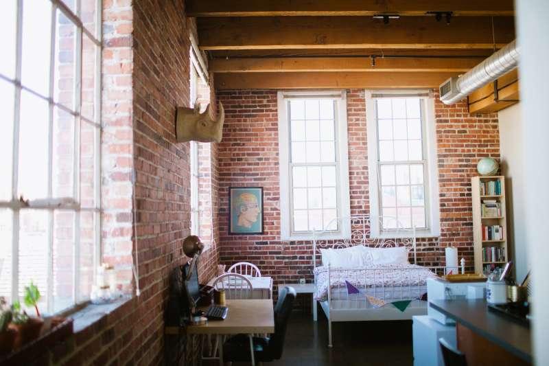 House Tour A Budget Friendly Denver Loft Apartment Therapy