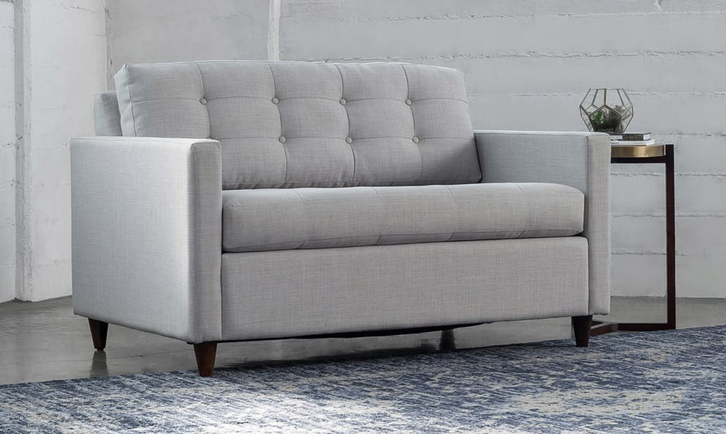 The best sleeper sofas for small spaces apartment therapy - Sectionals for small rooms ...