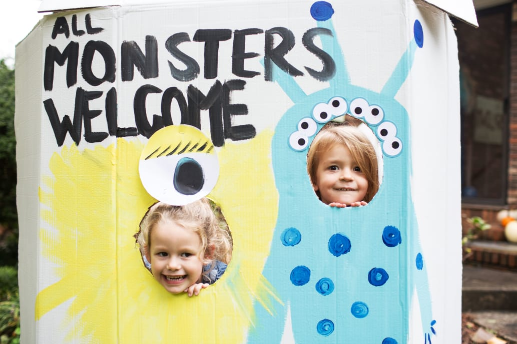 Monster kid party