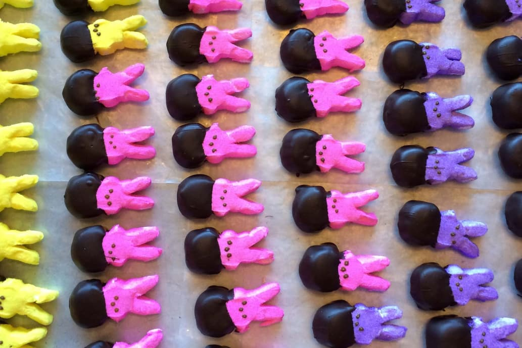 Compartes Chocolate Dipped Peeps