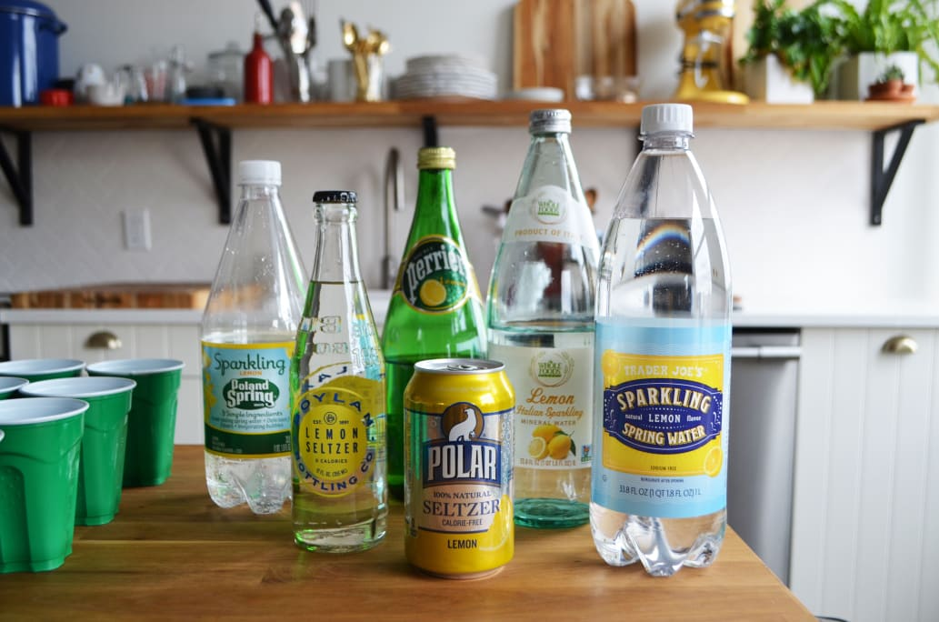 Lemon Seltzer Taste Test