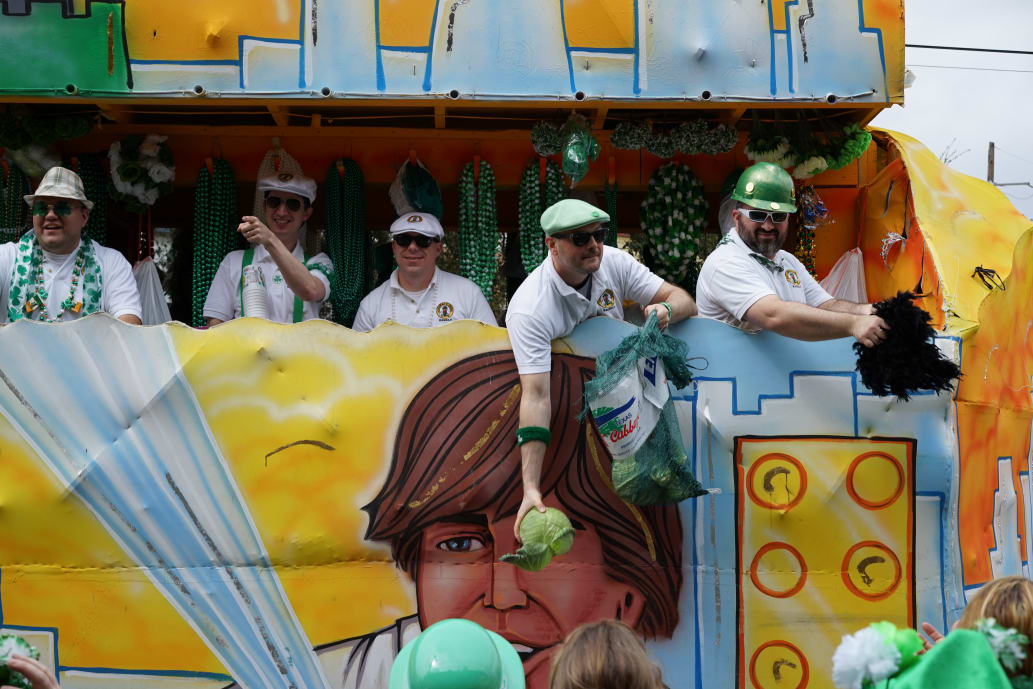 St. Patrick's Day Parade in New Orleans