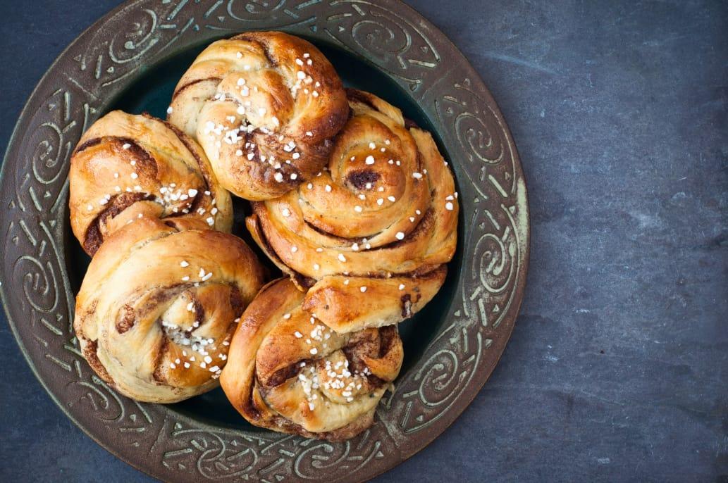 Swedish Advent buns