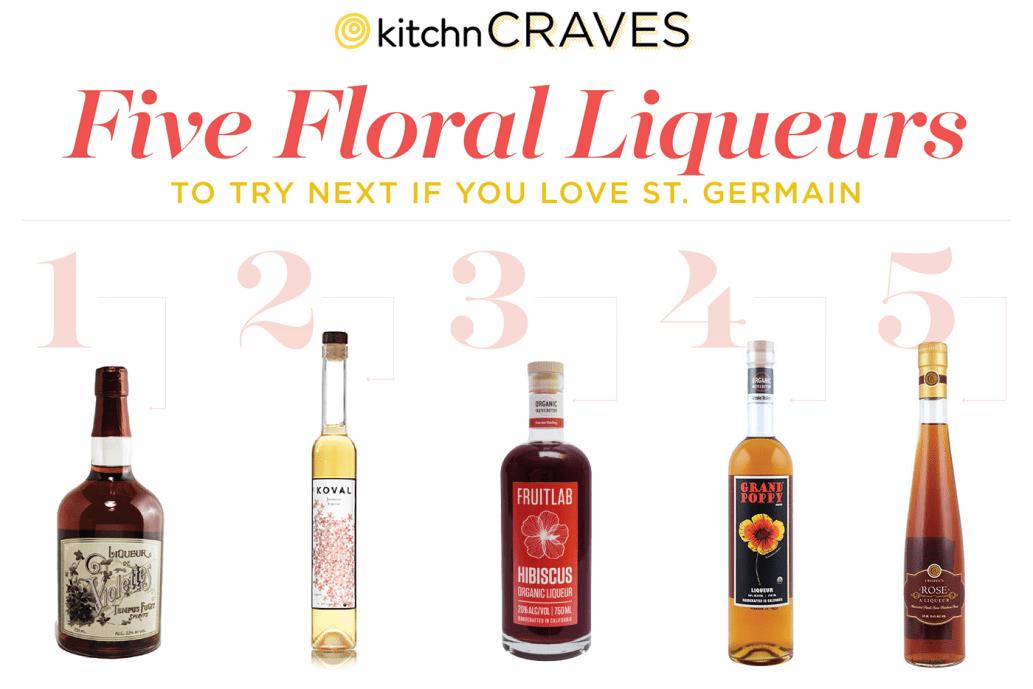 Alternatives to St Germain elderflower liqueur