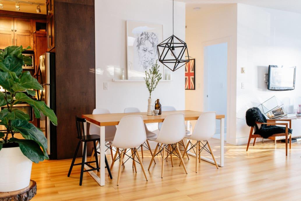 House tour minimal scandinavian inspired style for Minimal home mobili