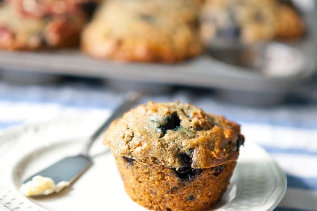 Recipe: Blueberry Bran Muffins