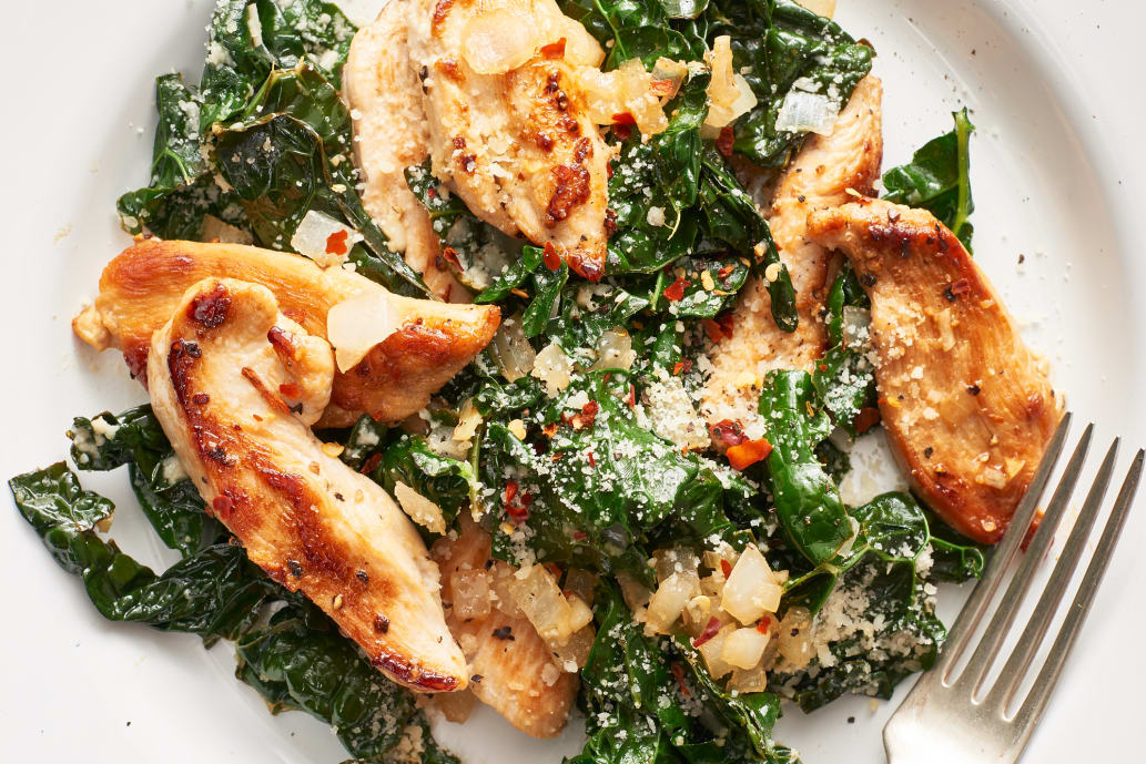 Chicken and Kale Sauté