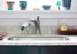Q: How Do I Clean A New Stainless Steel Or Brushed Stainless Steel Sink? I  Have Scratches And Marks On It Already. Help!