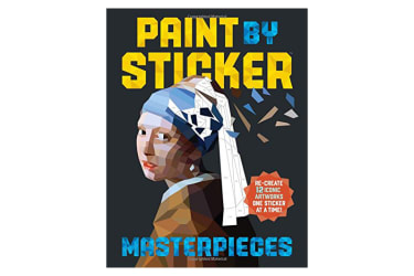 Paint by Sticker Masterpieces by Workman Publishing