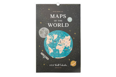 Maps of the World 2018 Calendar