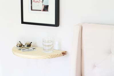 How To Build Quick Diy Floating Shelves Apartment Therapy