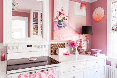 pretty pink kitchens kitchn