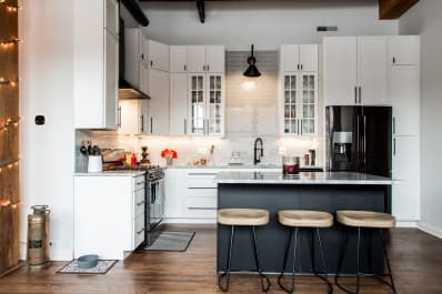 Under kitchen counter lighting Cupboard Apartment Therapy Under Counter Lighting Pros Cons Types Apartment Therapy