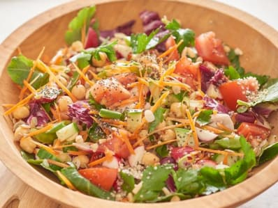 Make-Ahead Chicken and Veggie Chopped Salad