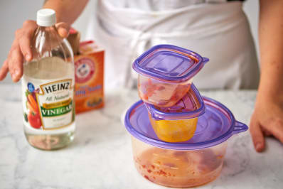 Get Food Stains Out Of Plastic Containers Kitchn