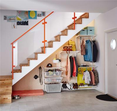 IKEA Algot Closet Organizing System