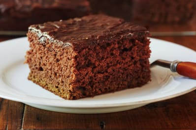 Chocolate Pudding Cake With Coke Frosting Kitchn