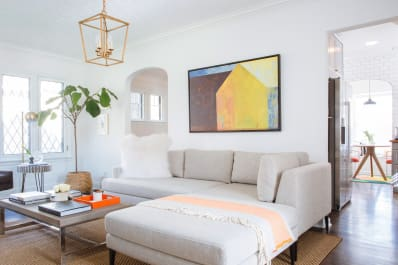 Art Sizing Rules Over Sofa 23 Golden Rule Apartment Therapy - Living-room-art-property