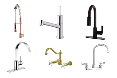 A Stylish Kitchen For Less: 10 Great Looking Kitchen Faucets Under $200 |  Apartment Therapy