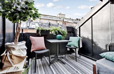 perfectly petite patios, balconies & porches: the most