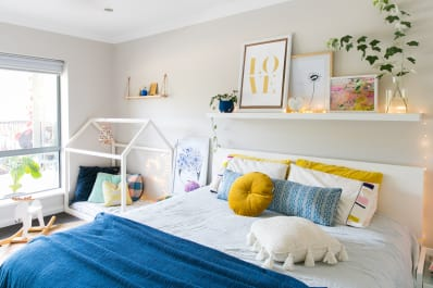 Smart And Stylish Wall Storage To Organize Your Small Bedroom | Apartment  Therapy
