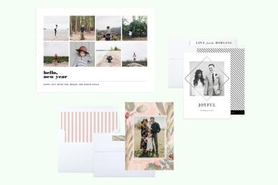 the best modern holiday photo cards apartment therapy - Modern Holiday Cards
