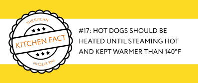 The Right Internal Temperature For Hot Dogs Kitchn