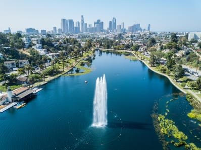 Echo Park by Drone