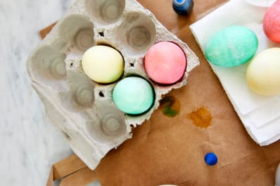 How to Dye Easter Eggs With Food Coloring | Kitchn